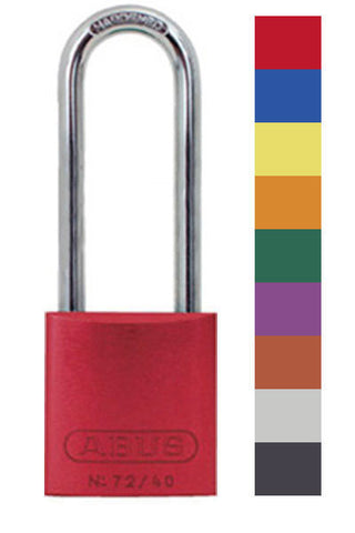 1aed901f873 Abus Lock 72HB 40-75 Safety Lockout Padlock