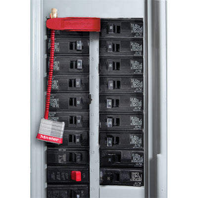 Master lock 7C5RED Circuit Breaker Cable Lockout