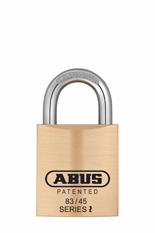 Abus Lock 83/45 Rekeyable Door Key Compatible Padlock