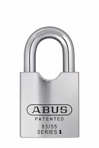 Abus Lock 83/55 Rekeyable Door Key Compatible Padlock