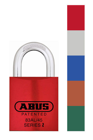 Abus Lock 83AL/45 Rekeyable Door Key Compatible Padlock