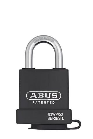 Abus Lock 83WP/53 Rekeyable Door Key Compatible Padlock