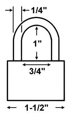 American Lock A1105 Safety Lockout Padlock