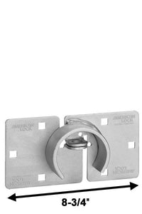 American Lock A801 Hidden Shackle Padlock Hasp