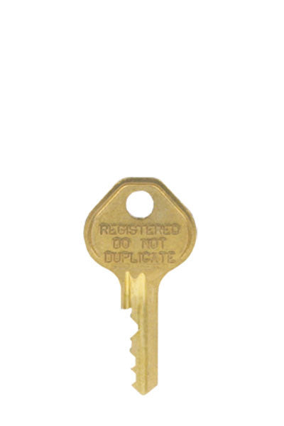 Locker Padlock Control Key