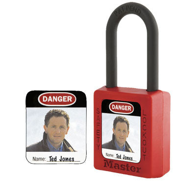 Master Lock S142 Photo Identification Label