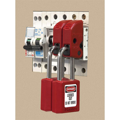Master Lock S2394 Miniature Circuit Breaker Lockout