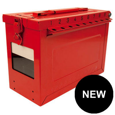 Master Lock S602 Large Portable Group Lock Box