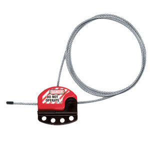 Master Lock S806CBL15 Adjustable Cable Lockout, 15 ft.