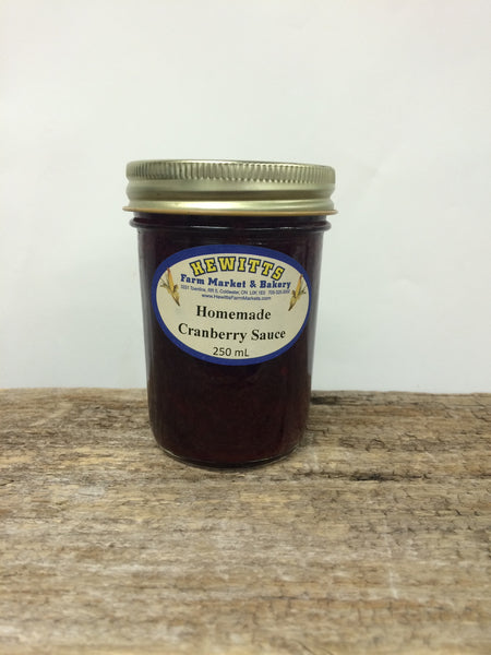 Homemade Cranberry Sauce - 250ml