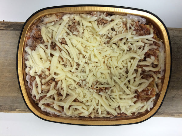 Frozen Homemade Meat Lasagna - 3.30 lbs (serves 4-6)