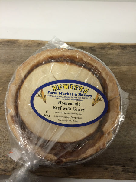 Frozen Homemade Meat Pies - Sample 4 Pack (each pie serves 1-2)