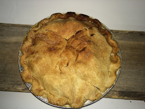 "Homemade Apple Pie - Large 9"" Ready-made (serves 4-6)"
