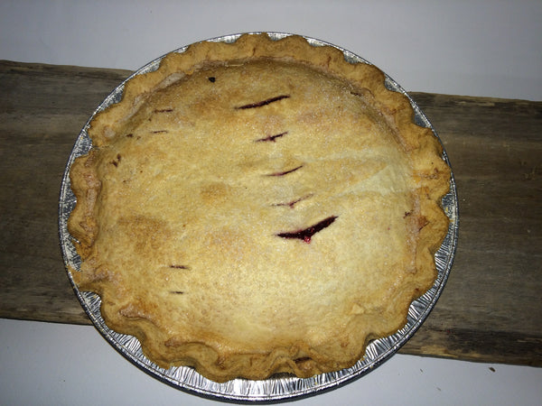 "Homemade Raspberry Pie - Large 9"" Ready-made (serves 4-6)"