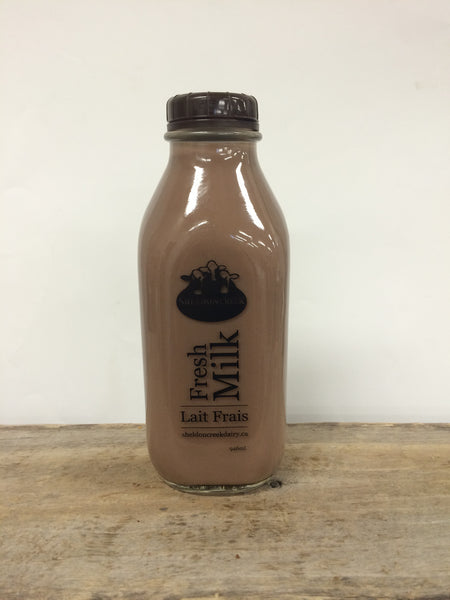 Sheldon Creek Chocolate Milk - 946ml ($2.00 bottle deposit fee included)