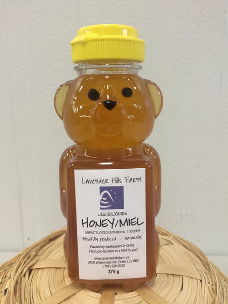 Pure Liquid Honey Bear - 375ml