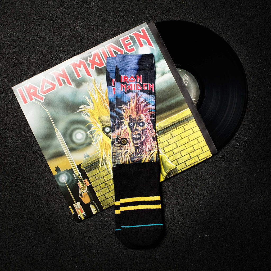 Stance Socken Legends of Metal, Iron Maiden, Schwarz - Dark Union 4