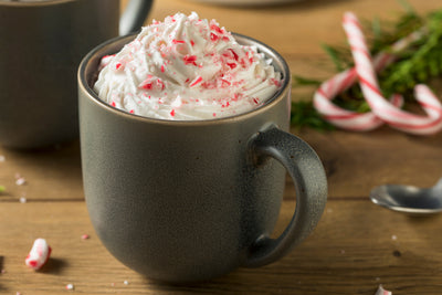 Tis' the Season for Homemade Peppermint Mocha Lattes