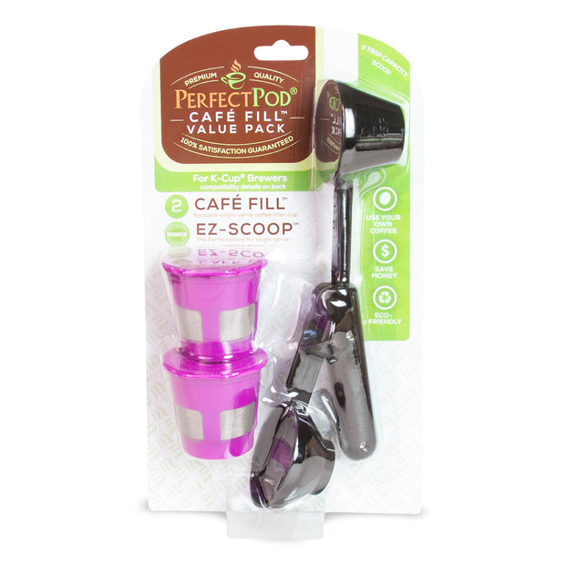 Café Fill® Value Pack with EZ-Scoop