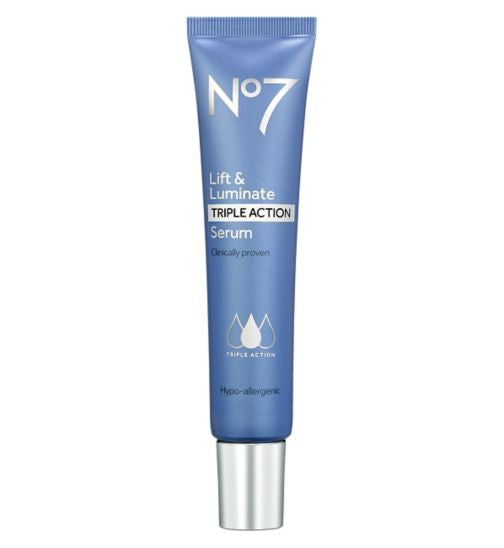 No7 serum 30 ml – Lift & Luminate Triple Action Serum - thingsyoujustneedtohave