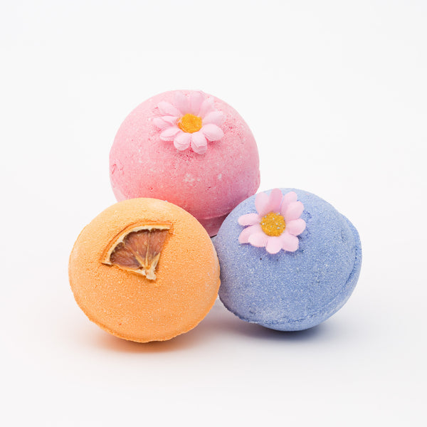 A trio of Bath Bombs