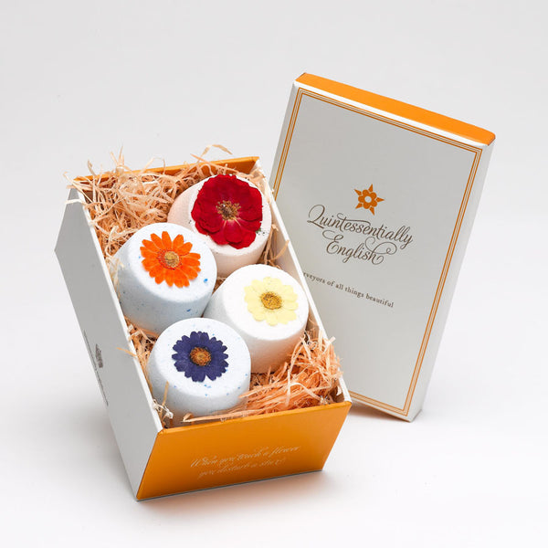 4 Flower Fizzies in a box