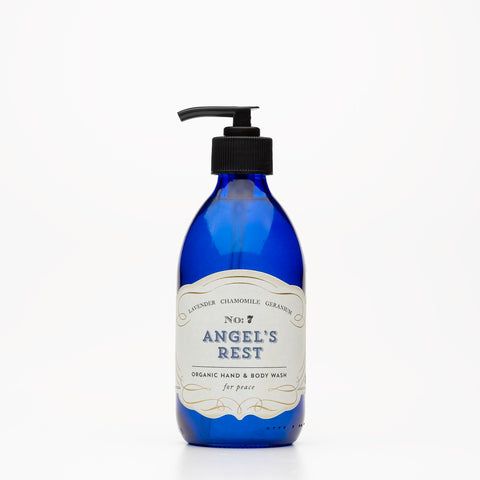 No: 7. Angel's Rest Organic Body Wash - Lavender & Geranium