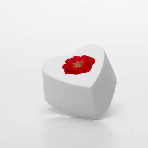 No.2 English Rose Heart Bath Bomb