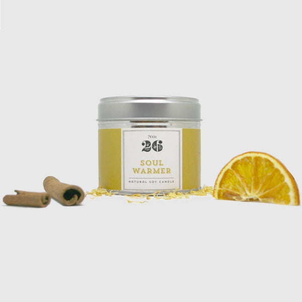 No.26 Soul Warmer Tinned Soy Candle