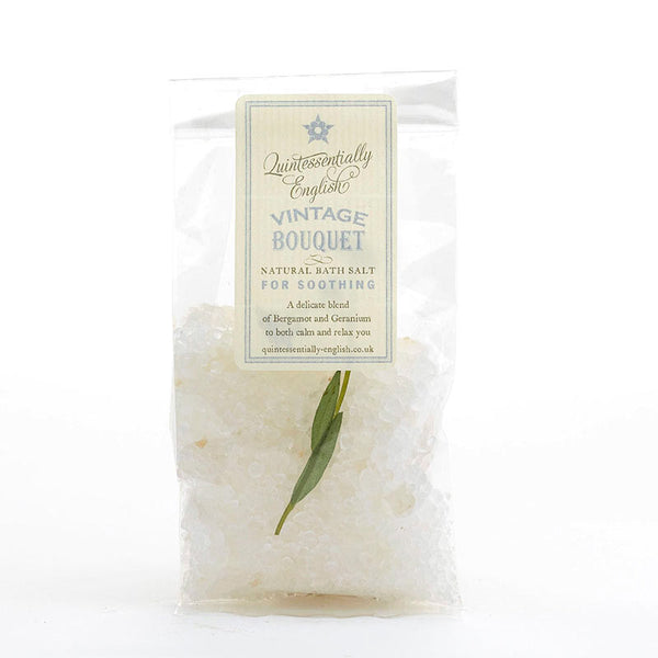 No.6 Vintage Bouquet Bath Salts