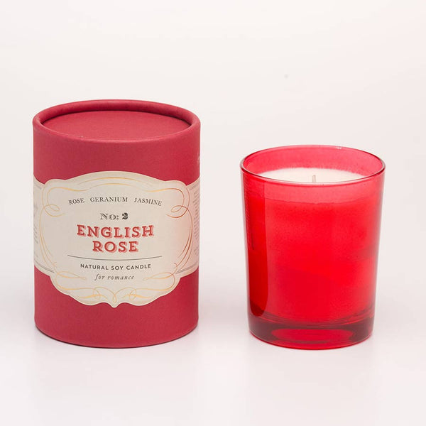 No.2 English Rose Soy Candle