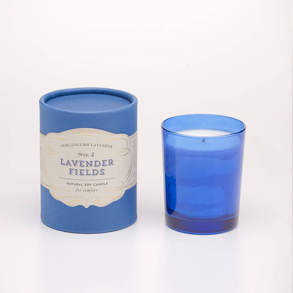 No.4 Lavender Fields Soy Candle