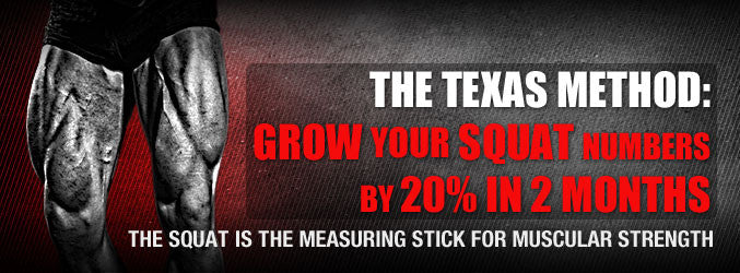 The Texas Method: Grow Your Squat Numbers By 20% In 2 Months