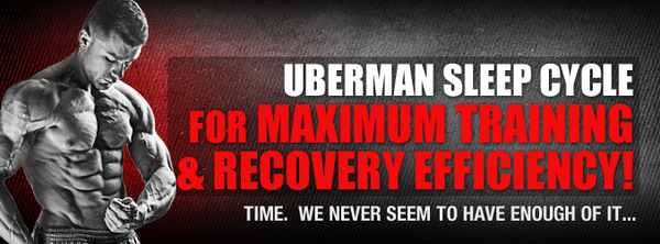 The Uberman Sleep Cycle for MAXIMUM Training & Recovery Efficiency!