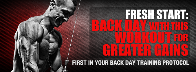Fresh Start: Back Day With This Workout For Greater Gains