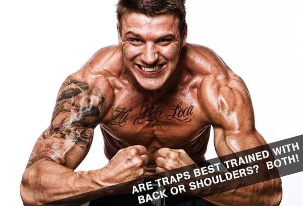 Are Traps Best Trained With Back Or Shoulders? BOTH!