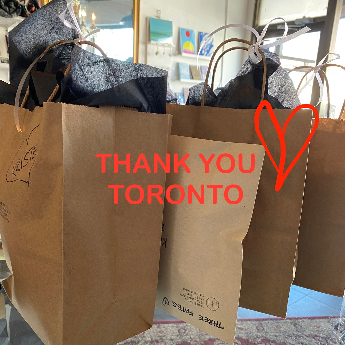 Thank you for your support Toronto