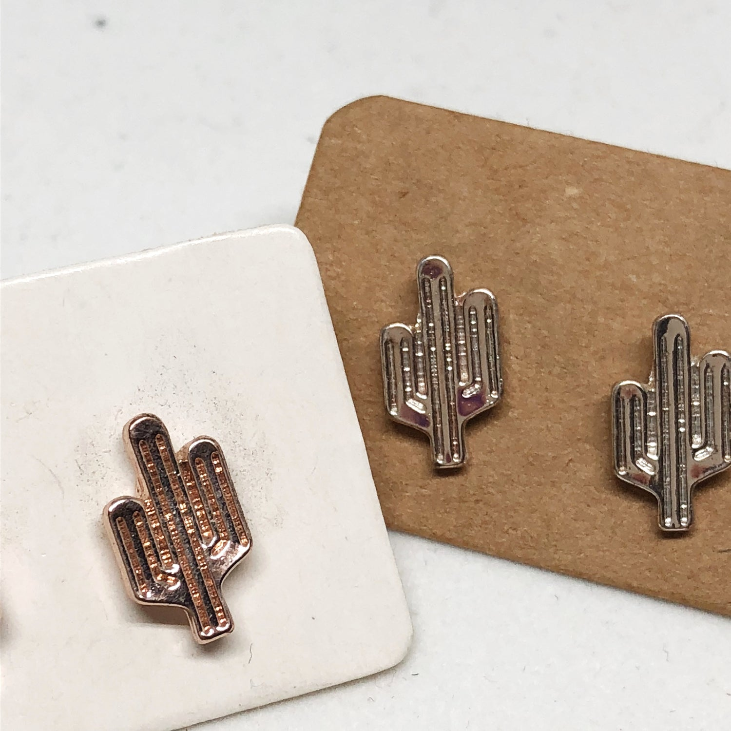 Cactus earrings