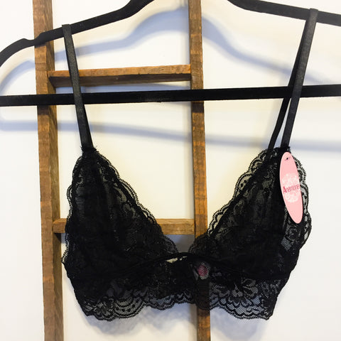 Black Lace Bralette
