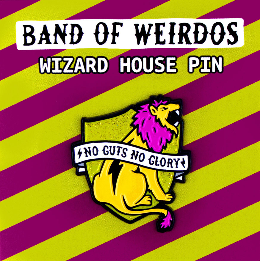 Gryffindor House Pin