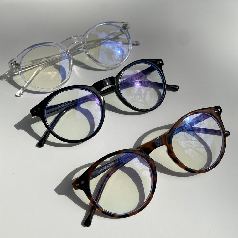 Cape cod frame blue light glasses