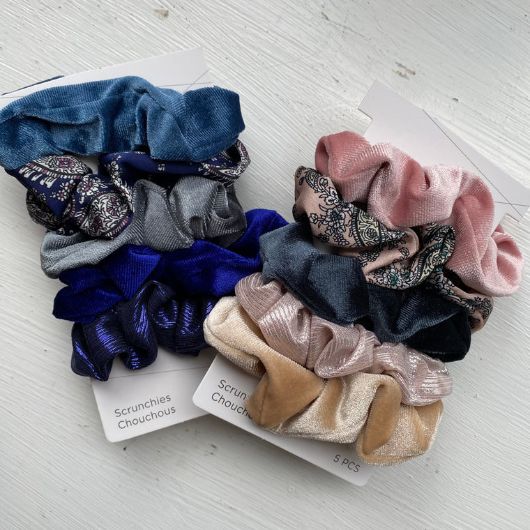Printed Scrunchie Packs