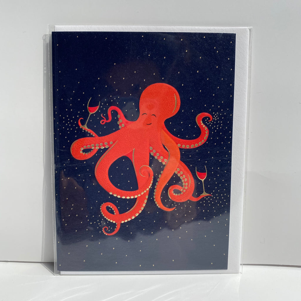 Wine Octopus card
