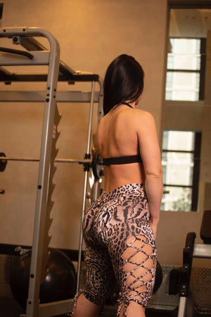 Insane Fit Tie side Leggings ( Light Supplex)