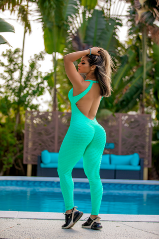 Aquamarine Bodysuit (Scrunchy Supplex)