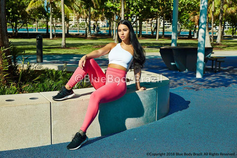 Pêche Rosé Leggings Light Supplex | BBBFIT