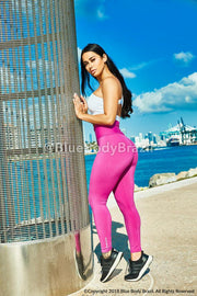 Miss Magenta Leggings (Thick Supplex)