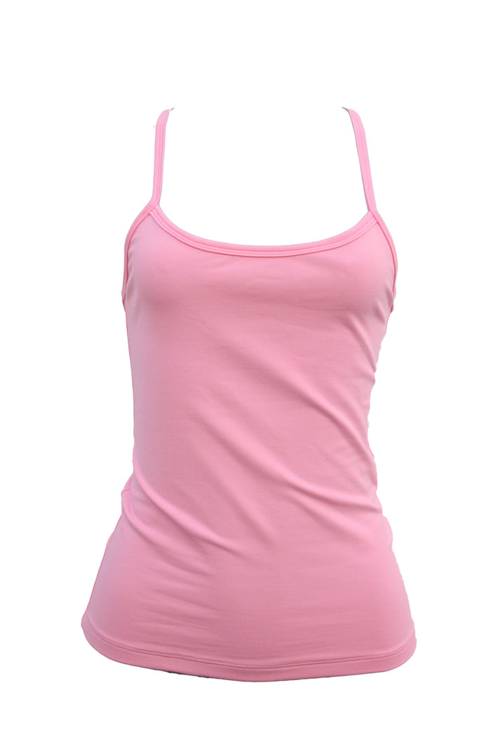 Baby Pink Tank Top (Light supplex)