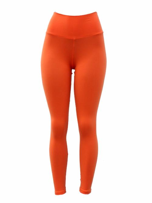 Bright Orange Thick Supplex Leggings