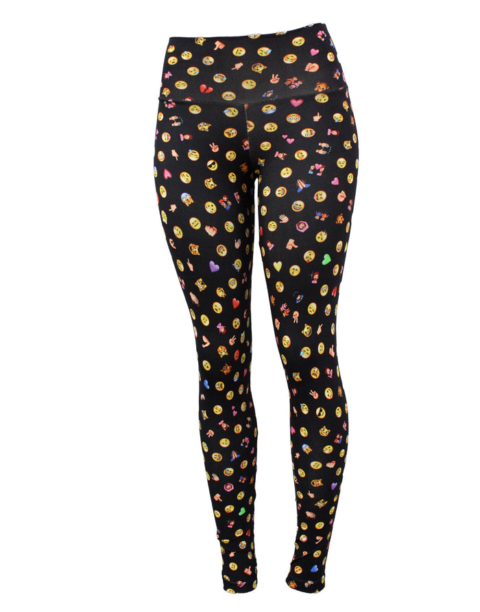 Emoji  Leggings (Light Supplex)